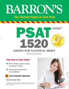 PSAT/NMSQT 1520 with Online Test, Paperback / softback Book