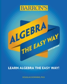 Algebra: The Easy Way, Paperback / softback Book