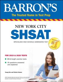 SHSAT : New York City Specialized High Schools Admissions Test, Paperback / softback Book