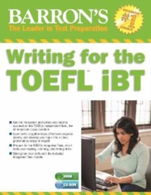 Writing for the TOEFL iBT with MP3 CD, Counterpack - filled Book