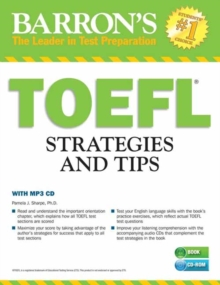 Outsmart the TOEFL : Test Strategies and Tips, Mixed media product Book