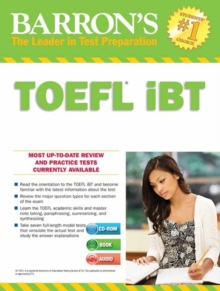 Barron's TOEFL iBT : With CD-ROM and MP3 Audio CD, Mixed media product Book