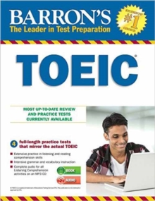 Barron's TOEIC with MP3 CD, Mixed media product Book