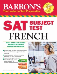 Barron's SAT Subject Test French with Online Tests, Paperback / softback Book