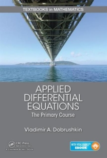 Applied Differential Equations : The Primary Course, Mixed media product Book