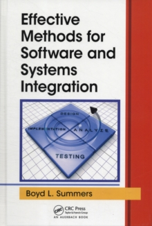 Effective Methods for Software and Systems Integration, PDF eBook