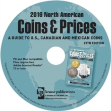 2016 North American Coins & Prices : A Guide to U.S., Canadian and Mexican Coins, CD-ROM Book