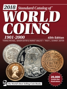 2018 Standard Catalog of World Coins, 1901-2000, Paperback Book
