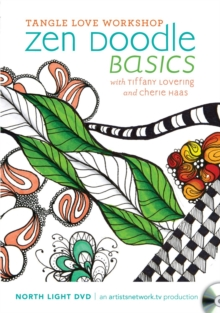 Tangle Love Workshop Zen Doodle Basics, DVD video Book