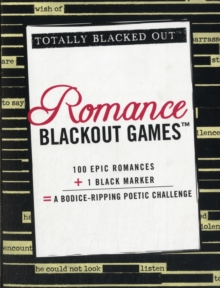Romance Blackout Games, Paperback Book