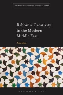 Rabbinic Creativity in the Modern Middle East, Paperback Book