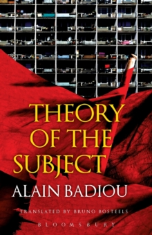 Theory of the Subject, Paperback / softback Book