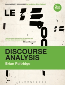 Discourse Analysis : An Introduction, Paperback / softback Book