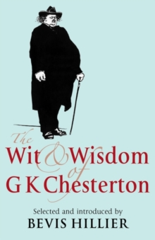 The Wit and Wisdom of G. K. Chesterton, Hardback Book