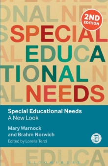 Special Educational Needs : A New Look, Paperback Book