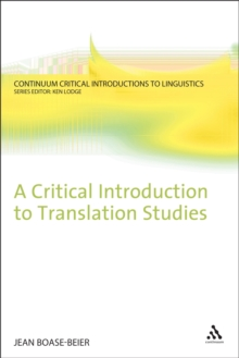 PDF) Introducing Translation Studies