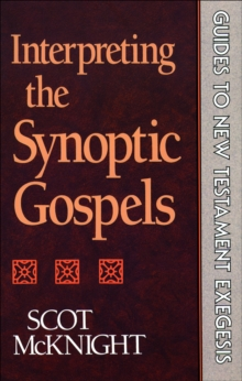 Interpreting the Synoptic Gospels (Guides to New Testament Exegesis), EPUB eBook