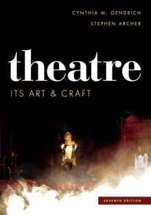 Theatre : Its Art and Craft, Paperback Book