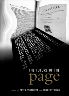 The Future of the Page, EPUB eBook