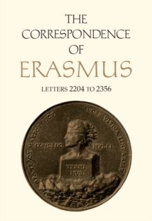 The Correspondence of Erasmus : Letters 2204-2356 (August 1529-July 1530), PDF eBook