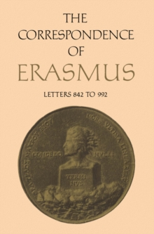 The Correspondence of Erasmus : Letters 842-992 (1518-1519), PDF eBook