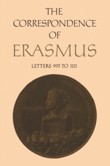 The Correspondence of Erasmus : Letters 993 to 1121 (1519-1520), PDF eBook
