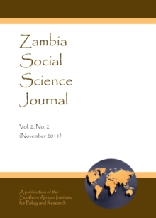 None Zambia Social Science Journal Vol. 2, No. 2 (November 2011), PDF eBook