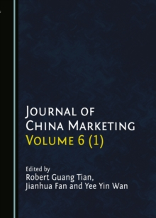 None Journal of China Marketing Volume 6 (1), PDF eBook