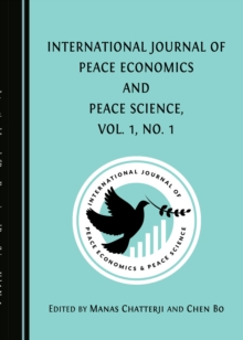 None International Journal of Peace Economics and Peace Science, Vol. 1, No. 1, PDF eBook