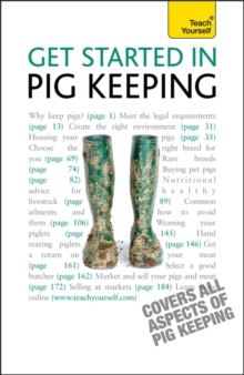 Get Started In Pig Keeping : Amateur pigkeeping for pleasure or profit: a practical introduction, Paperback Book