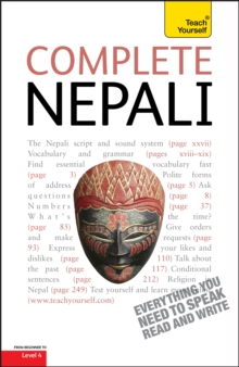 Complete Nepali Beginner to Intermediate Course : Learn to Read, Write, Speak and Understand a New Language with Teach Yourself, Paperback Book