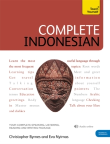 Complete Indonesian Beginner to Intermediate Course : (Book and audio support), Mixed media product Book