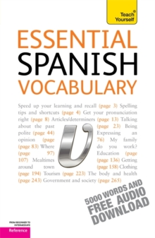 Essential Spanish Vocabulary: Teach Yourself, Mixed media product Book