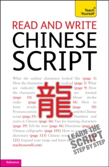 Read and write Chinese script: Teach Yourself, Paperback / softback Book