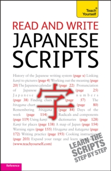 Read and write Japanese scripts: Teach yourself, Paperback / softback Book