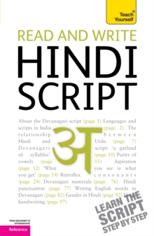 Read and write Hindi script: Teach Yourself, Paperback / softback Book