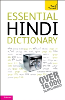 Essential Hindi Dictionary: Teach Yourself, Paperback / softback Book