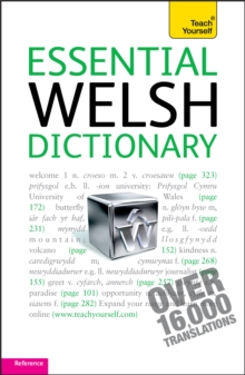 Essential Welsh Dictionary: Teach Yourself : Welsh-English - English-Welsh, Paperback Book