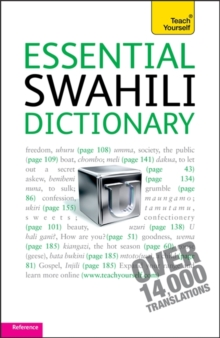 Essential Swahili Dictionary: Teach Yourself, Paperback Book