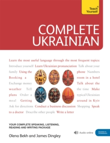 Complete Ukrainian Beginner to Intermediate Course : (Book and audio support), Mixed media product Book
