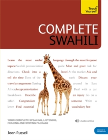 Complete Swahili Beginner to Intermediate Course : (Book and audio support), Mixed media product Book