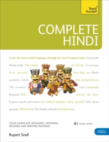 Complete Hindi Beginner to Intermediate Course : (Book and audio support), Mixed media product Book