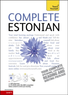 Complete Estonian Beginner to Intermediate Book and Audio Course : Learn to Read, Write, Speak and Understand a New Language with Teach Yourself, Mixed media product Book