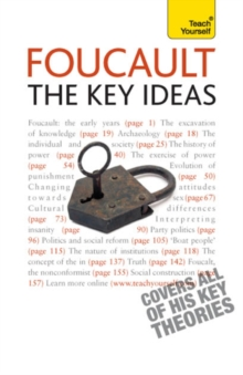 Foucault - The Key Ideas : Foucault on philosophy, power, and the sociology of knowledge: a concise introduction, EPUB eBook
