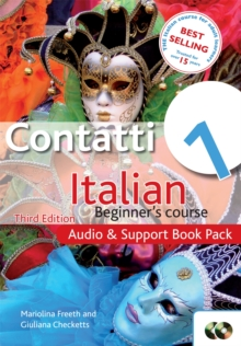 Contatti 1 Italian Beginner's Course: Audio and Support Book Pack : Contatti 1 Italian Beginner's Course 3rd Edition Audio and Support Book Pack, CD-Audio Book