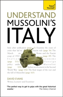 Understand Mussolini's Italy: Teach Yourself, Paperback Book