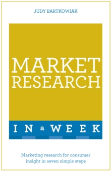 Market Research In A Week : Market Research In Seven Simple Steps, EPUB eBook