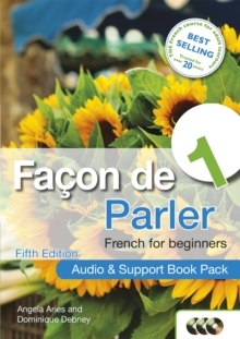 Facon de Parler 1 French for Beginners 5ED : Audio and Support Book Pack, CD-Audio Book