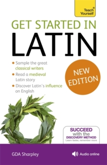 Get Started in Latin Absolute Beginner Course : (Book and audio support), Mixed media product Book
