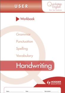 Quickstep English Workbook Handwriting User Stage, Paperback / softback Book